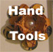 Small hand tools used in paper crafting