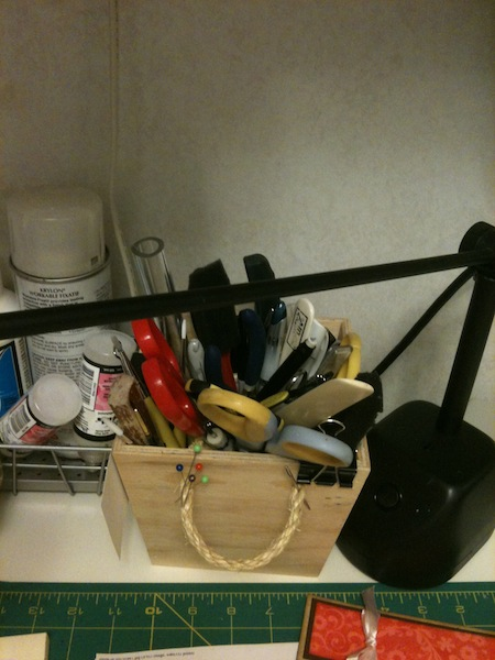 Where I keep my hand tools