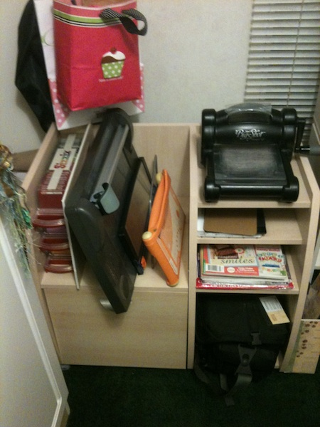 Storing my paper trimmers